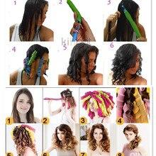 55 long 20 magic curls do not hurt hair curlers spiral