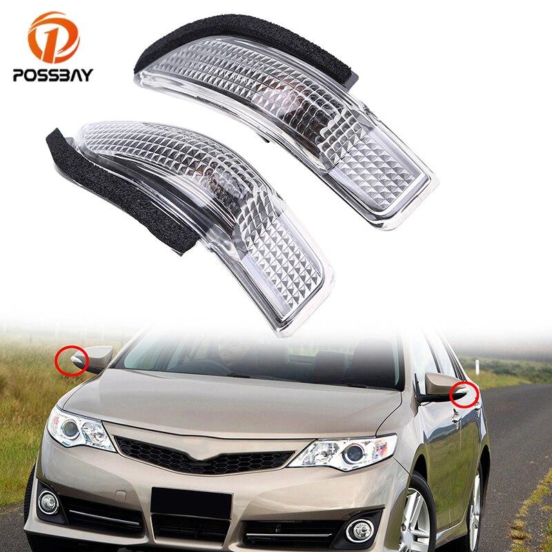 Possbay Car Side Mirror Light Led Rear View Turn Signal