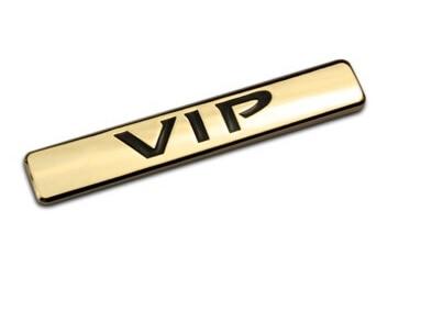 Omotavanje VIP 3D metalni luksuzni automobil auto bočna vrata C stup - Vanjska auto oprema - Foto 2