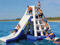(China Guangzhou) manufacturers,Inflatable Water rock climbing,Inflatable water seesaw COB-478