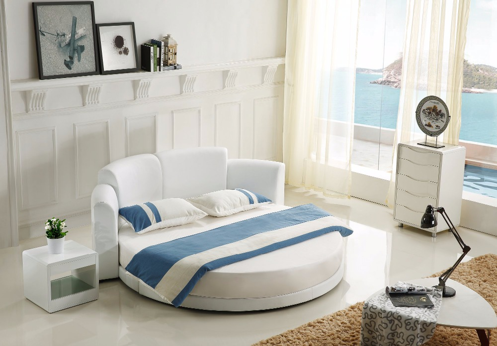 Circle bed for sale royal luxury round bed no pinterest for Round double bed design
