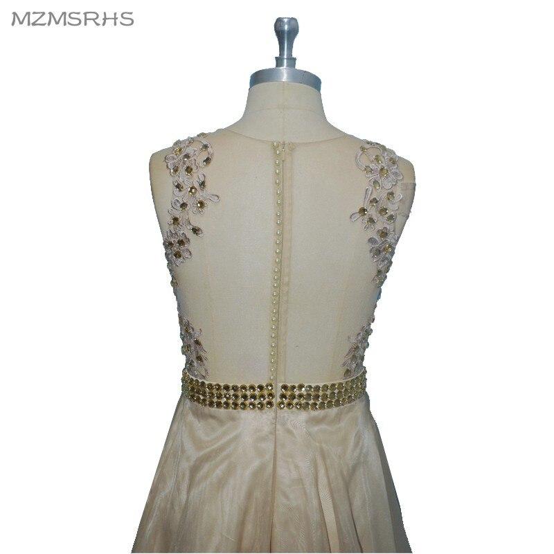 """Elegantiškos """"Champange"""" aplikacijos """"Vintage"""" formali - Ypatinga proga suknelės - Nuotrauka 6"""