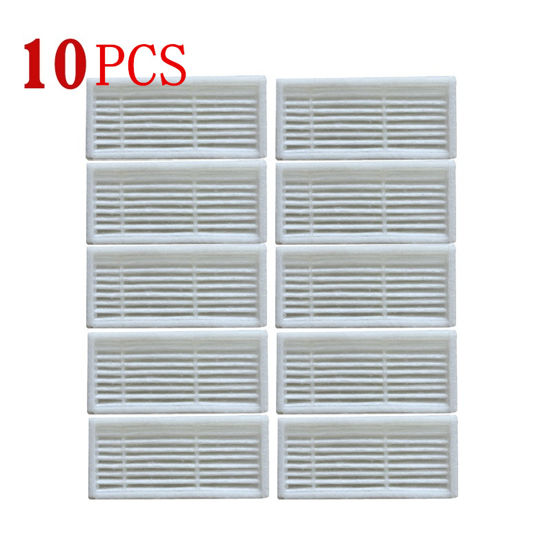 10 Pieces/lot Robot Vacuum Cleaner Parts HEPA Filters Filter For Kitfort Kt-518 Kt518 Robotic Vacuum Cleaner Accessories