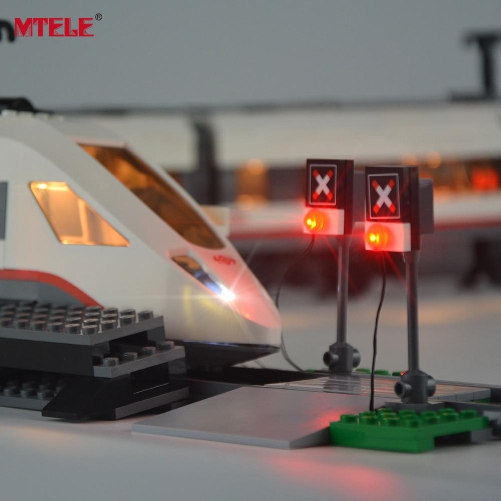 MTELE Brand New Arrival Led Light Kit Untuk Kereta Model Penumpang - Mainan bangunan dan konstruksi - Foto 3
