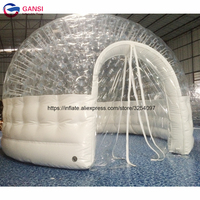 Commercial indoor inflatable dome tent party used inflatable trade show tent for event