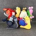 6 Стилей 22-30 см Мультфильм 3D CuteTurbo Плюшевые Игрушки Чучело игрушки Прохладный Turbo скорость Улитки Плюшевые Игрушки Для Детей День Рождения подарок