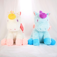 40cm 2 Color Cute Plush Stuffed Unicorn For Kids Gifts