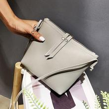 Fashion Crossbody Bags for Women Solid Leather Shoulder Bag