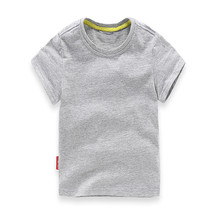 Boys Casual Shirt Simple Short Sleeve T Shirt Children Solid Color Clothes Kids Shirt Boys Summer Style Tops Kids Costume