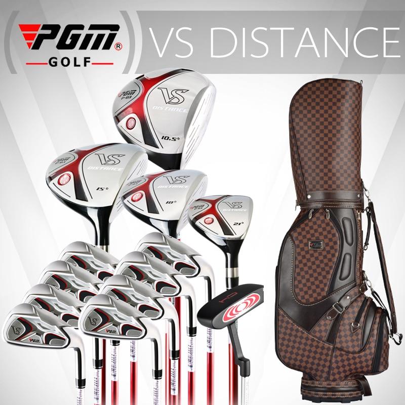 PGM עבור MENS, סגסוגת טיטניום עבור הנהג. מלא גולף להגדיר פירט גרפיט גרפיט. מועדוני גולף מקצועיים להשלים עם שקית