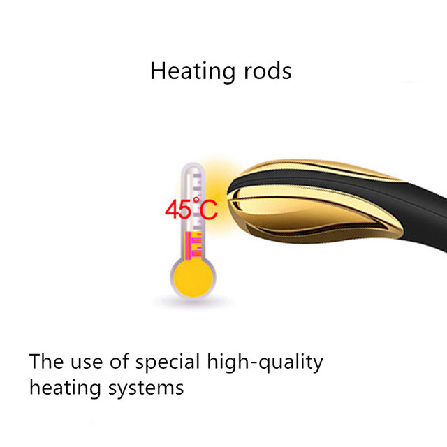 Gold-Plated Rechargeable Vibrator – Heat Control