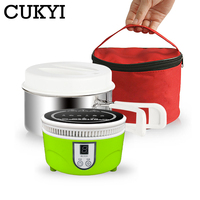 CUKYI Mini Portable Induction cookers for home office dormitory 800W One click electromagnetic oven stove with Cooking pot