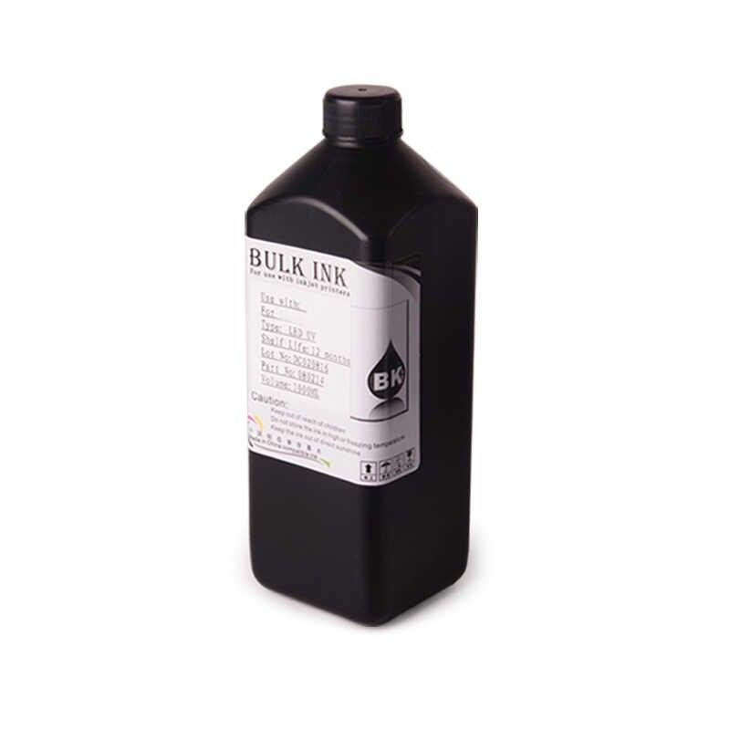 4 Botol/Set 1000 Ml LED UV Tinta untuk Roland untuk Mimaki untuk Mutoh DX3 DX4 DX5 DX6 DX7 printhead dan Flatbed Desktop Pencetak Inkjet