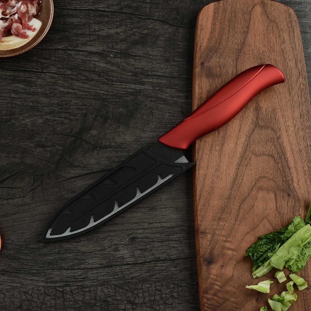 XYj 4 قطعة سكين مطبخ سيراميك + واحد مقشرة + حامل سكاكين كتلة حامل مطبخ عالي الجودة طقم السكاكين الساخن اكسسوارات أدوات