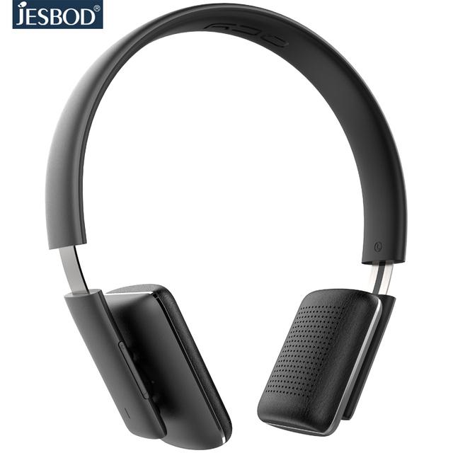 Jesbod QCY50 diadema Auriculares Inalámbricos Bluetooth BT 4.1 Versión de Alta Fidelidad Auriculares Estéreo Bluetooth micrófono incorporado para llamadas