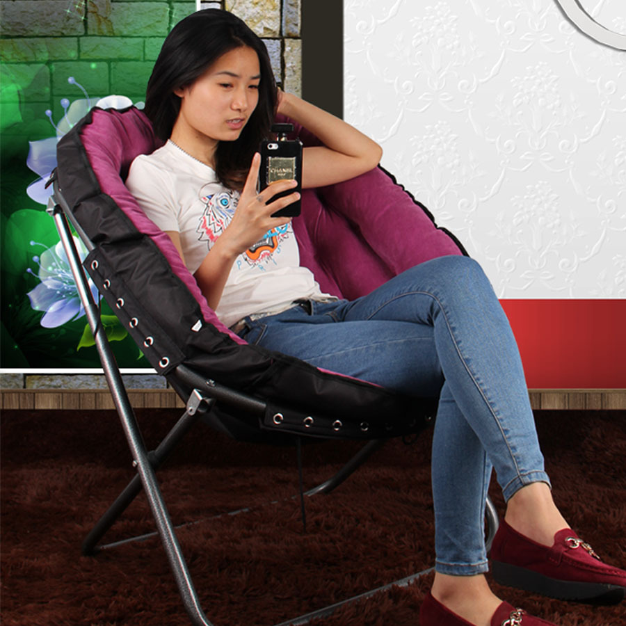 kaiyun stylish beanbag chair recliner lounge chair folding chairs