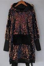 Bingbing; Женские туфли расшитые пайетками платье с воланом