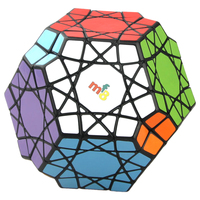 MF8 Heaven's Eyes Magic Cube Speed Megaminx Cube Puzzle Brain Teaser Educational Toy for Collection 11cm Black