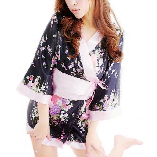 Japanese Kimono Stage Evening Sexy Lingerie Dress Bath Robe Sauna Miss Clothing Retail/Wholesale 6DOL