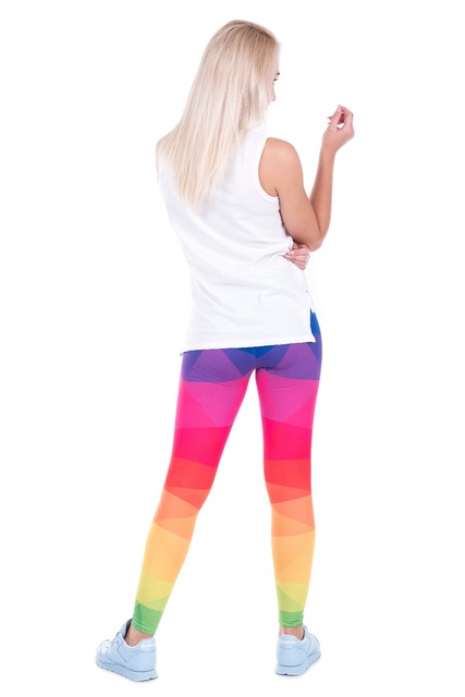 Triangle Rainbow Leggings