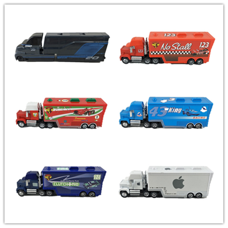 Disney Pixar Cars 2 3 Toys Lightning McQueen Jackson Storm Mack Uncle Truck Diecast Model Car Toy Children Birthday Gift
