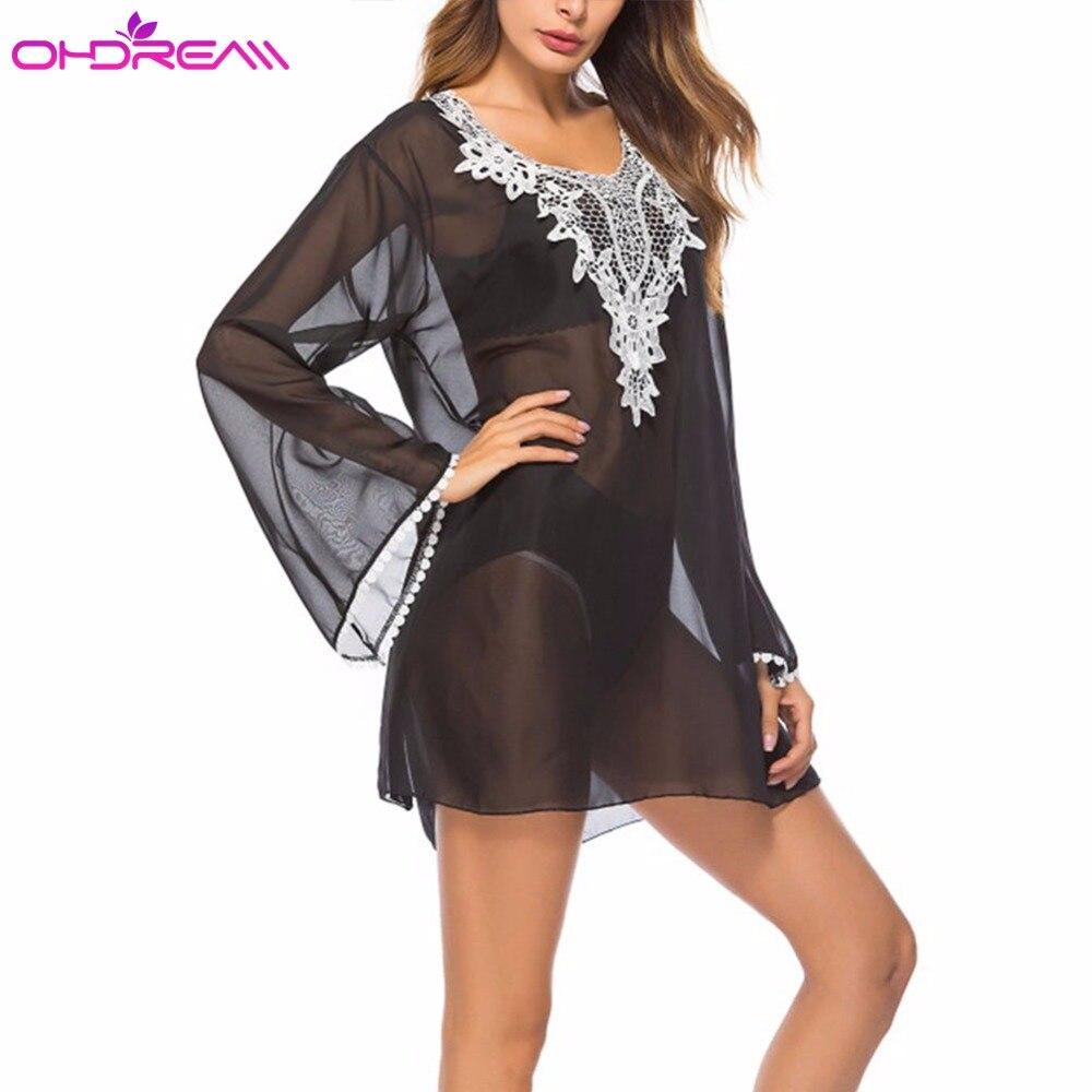 Aliexpresscom  Buy Ohdream 2018 New Beach Smock Cover -5496