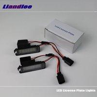 Liandlee For Volkswagen VW Polo / Polo Vivo / LED Car License Plate Lights / Number Frame Light / High Quality LED Lamp