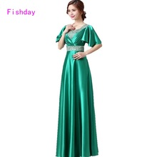 2016 Royal Blue Emerald Green Evening Empire Purple Gowns Dresses Long Turkish Dubai Kaftan Mother of the Bride Dresses A40(China)