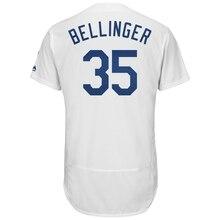 741cc0f15 Juego jersey hombre Jersey de Los Angeles Dodgers Cody Bellinger blanco  Flex Base de béisbol de