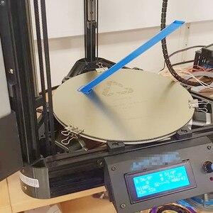 Энергетическая обновленная 3D-принтер с подогревом кровать Съемная круглая пружинная стальная пластина с предварительно нанесенным PEI сбор...