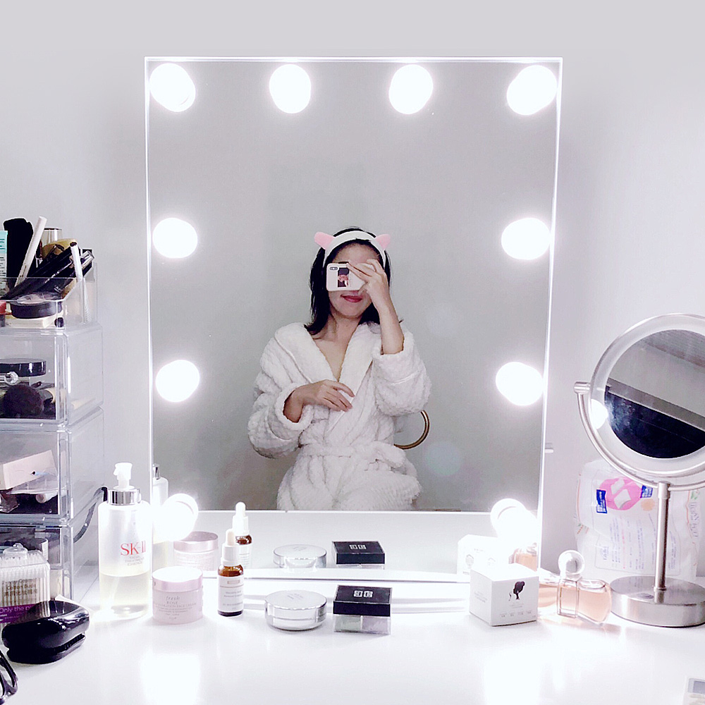 Makeup Vanity 10 LED Light Bulbs Kit for Dressing Table ...