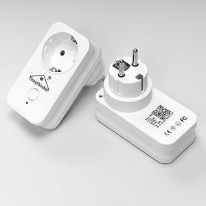 Image 5 - Timethinker Smart Home Wifi Socket Smart Outlet Voor Apple Homekit Siri Alexa Google Home Afstandsbediening Eu Vs Au Uk stekkers 3 Pcs