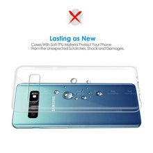 Ultra-thin Transparent Phone Case For Samsung Galaxy S10, S10 Plus