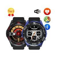 S11 Смарт часы телефон с 3g sim карты Android 5,1 MTK 6572 512 МБ + 4 Гб OLED Сенсорный экран Bluetooth умные часы с WiFi сердечного ритма погоду