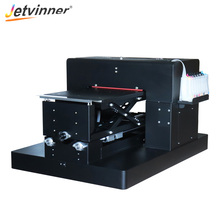 New DTG Printer with DX5 print head A3 Size Flatbed Inkjet Printer for Textile Clothes T-shirt Printing with Rip Software