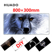 Rubber Gaming Mouse Pad Mouse Mat Large Lock Edge Mousepad 800 300mm Desk Mats For Steelseries