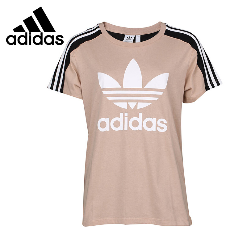 Original New Arrival 2018 Adidas Originals TAPE T SS Women's T-shirts short sleeve Sportswear цена