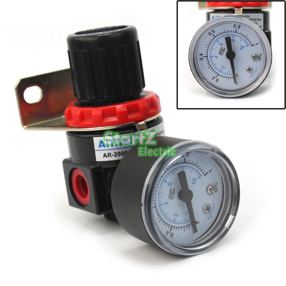 AR-2000 G1/4'' Pneumatic mini air pressure regulator air treatment units euro mini tcc 2000