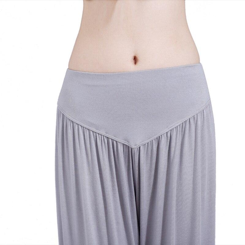 Women Yoga Pants Loose Harem Yoga Trousers Bloomers Running Jogging Leisure Fitness Sport Tai Chi Pants Trousers for Female in Yoga Pants from Sports Entertainment