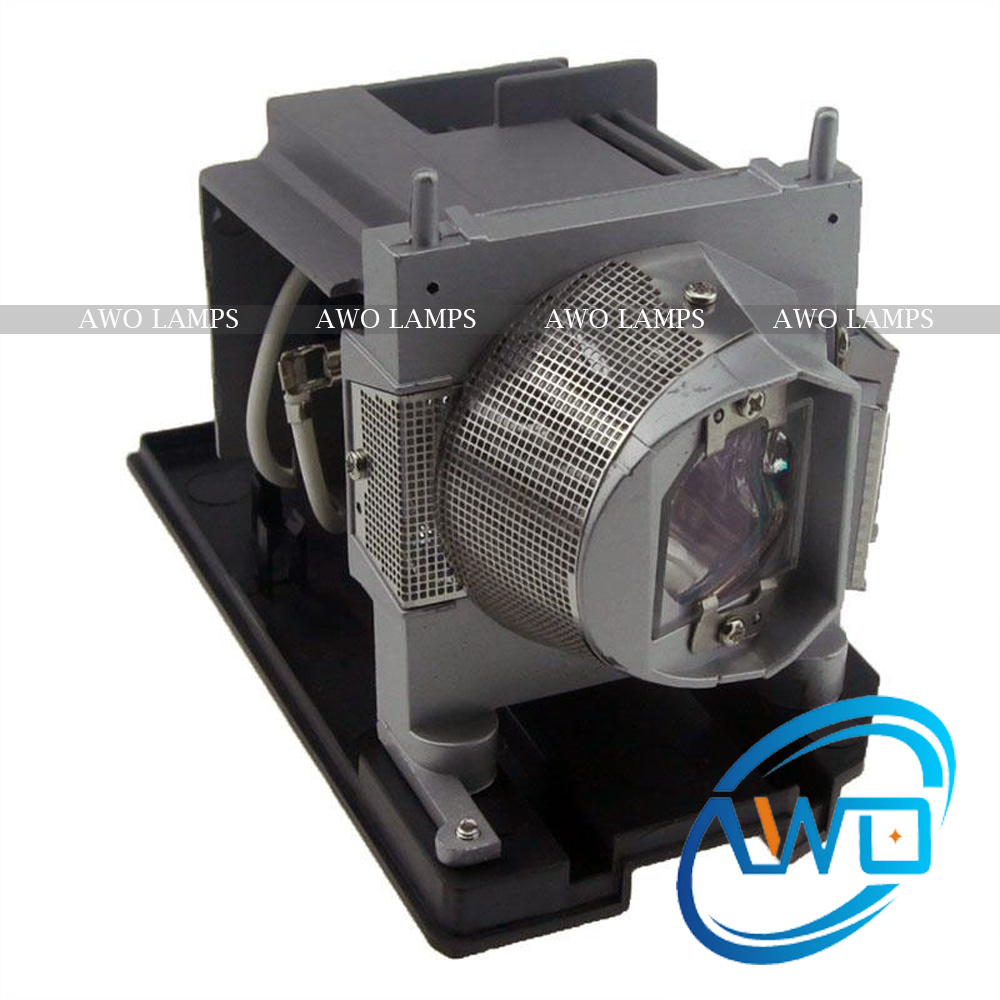 AWO Original NP24LP Projector Lamp with Housing NSHA330W Bulb inside for NEC PE401H 180-day Warranty uhp330 264w original projector lamp with housing np06lp for nec np 1150 np1250