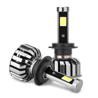 2pcs Led H7 H4 H1 H3 880 H8 H11 9005 9006 Car Headlights 80w 8000lm 6000K