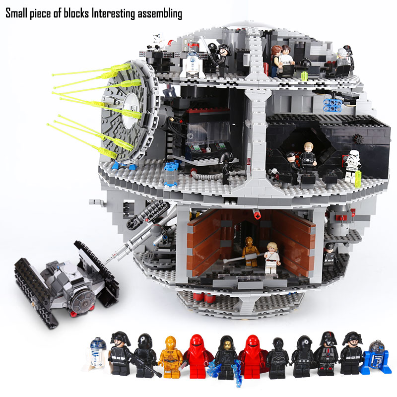 DHL 05035 The Death Model Star series Building Blocks Bricks Kits Compatible with the 10188 Children