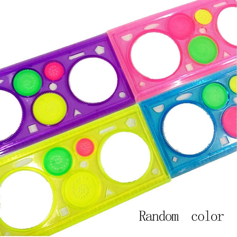 Magic Children's Sketchpad drawing template New Baby Boys Girls Spirograph Sketchpad Drawing Boards Ruler Educational Toys
