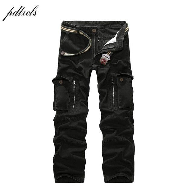 49 2018 хорошее качество военные брюки карго мужские горячие камуфляжные мужские хлопковые брюки 7 цветов