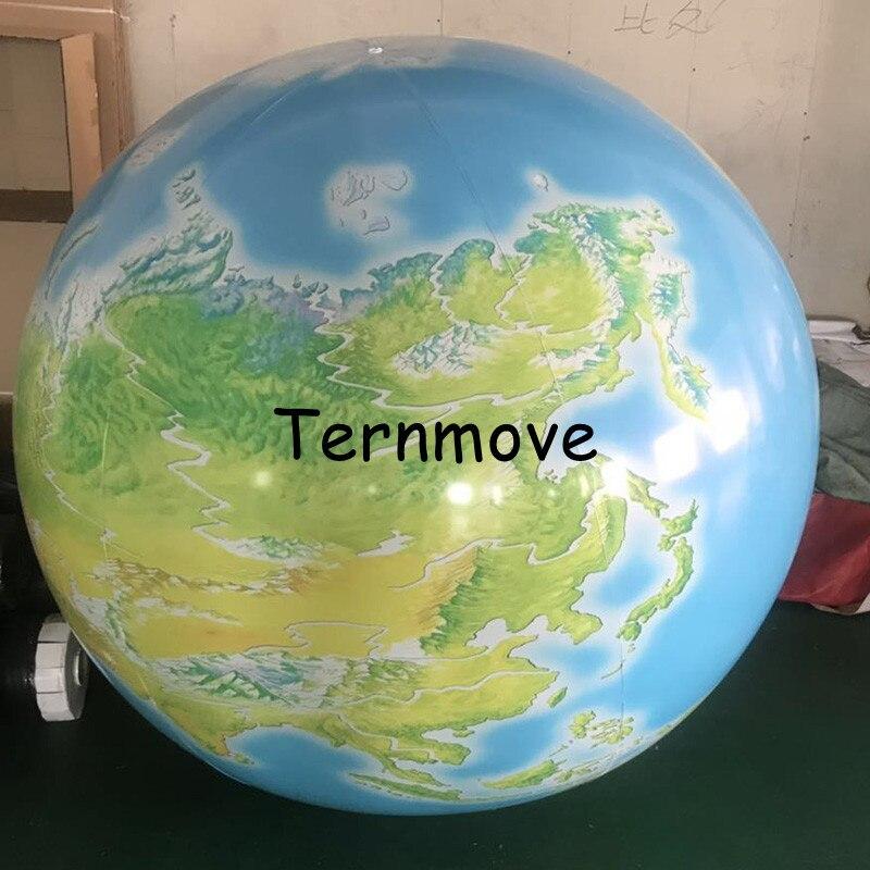 inflatable globe ball 2m giant inflatable planet balloons earth moon Jupiter Saturn Uranus Neptune Mercury Venus for party