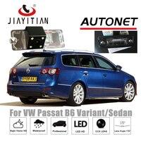 JiaYiTian Rear Camera For Volkswagen VW Passat B6 Sedan Wagon TYP3C 2005 2015 CCD License Plate