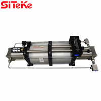 SITEKE Model 2GBD200 double acting single stage gas booster pump ratio 200:1 high output pressure pump