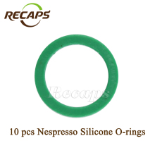 10 pcs Silicone O-rings Compatible with Nespresso Stainless Steel Refillable Capsules Nespresso Reusable coffee capsule