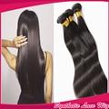 "Cheap hair Bundles Natural Balck Synthetic Hair Bundles Extensions Heat Resistant 18-26""Silk Straight  Hair Weft Weaving"