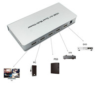 New Full 1080p HDMI 4x1 Multi Viewer With HDMI Switcher Perfect Quad Screen Real Time Nov